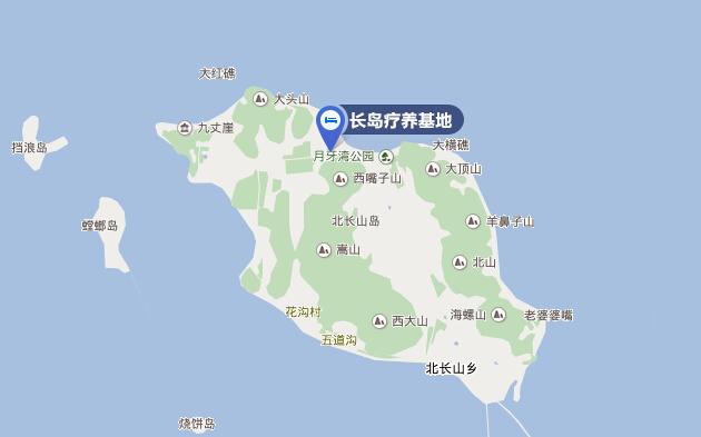 长岛林海公园地图