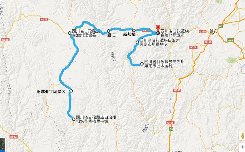 重庆 第二天: 成都 q 稻城