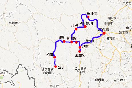西昌邛海旅游景点地图