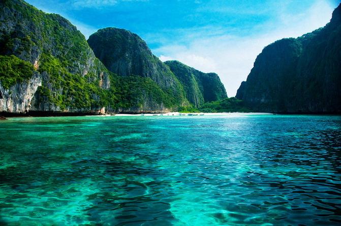 泰国普吉岛pp岛风景照